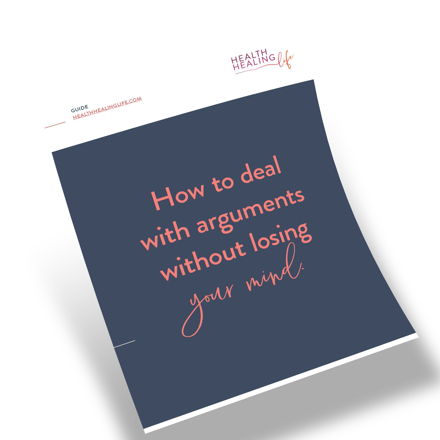 Flyer Mockup_HOw to deal with arguments